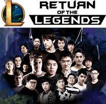 Return of the Legends 2017 - LoL Logo