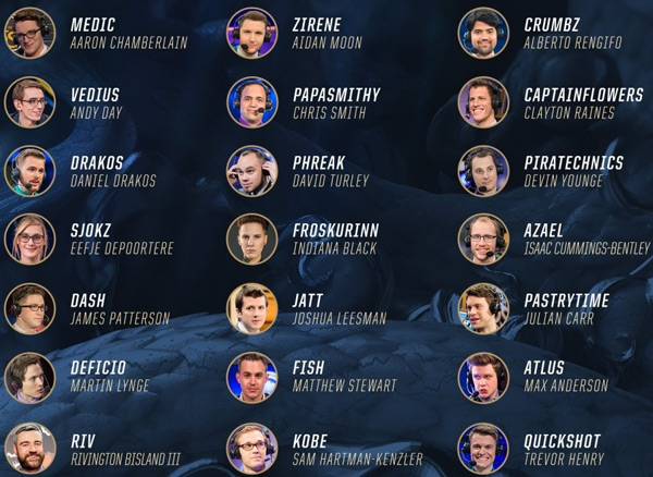 Caster Analysts Hosts LoL Worlds 2017