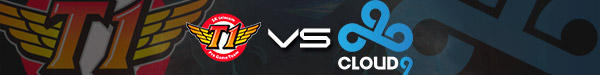 SK Telecom T1 vs. Cloud9 Groupstage 2 LoL Worlds 2017