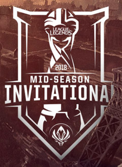League of Legends Mid Season Invitational 2018 Tournament Logo