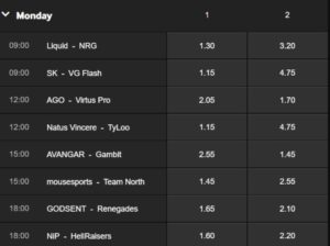 StarSeries & i-League Season 5 BetWay Betting Odds