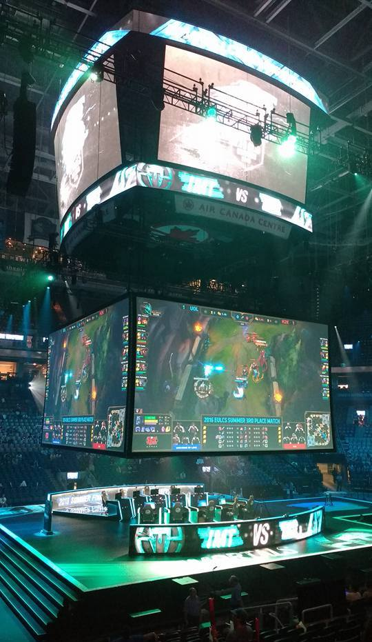 NA LCS Playoffstage