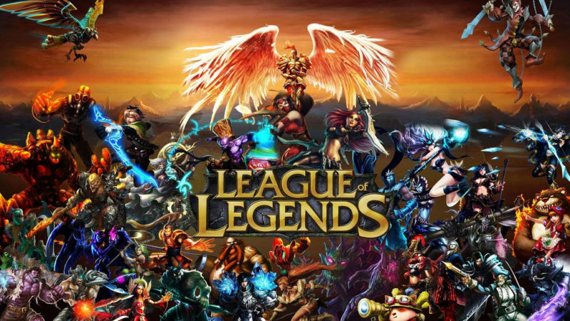 League of Legends Logo 1