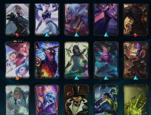 Some Skins from League of Legends